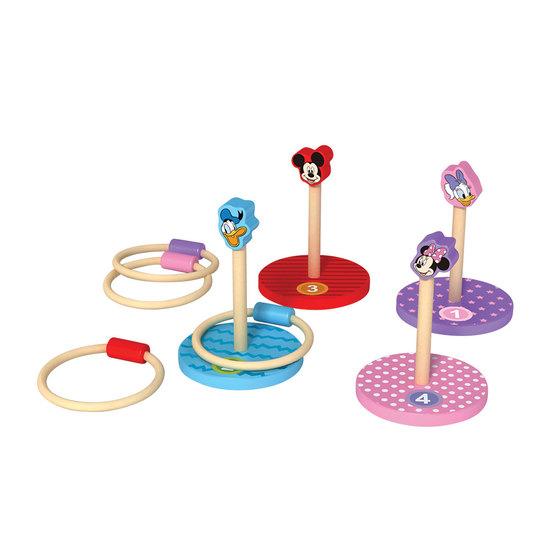 Jogo Toss Madeira 8 peças Disney