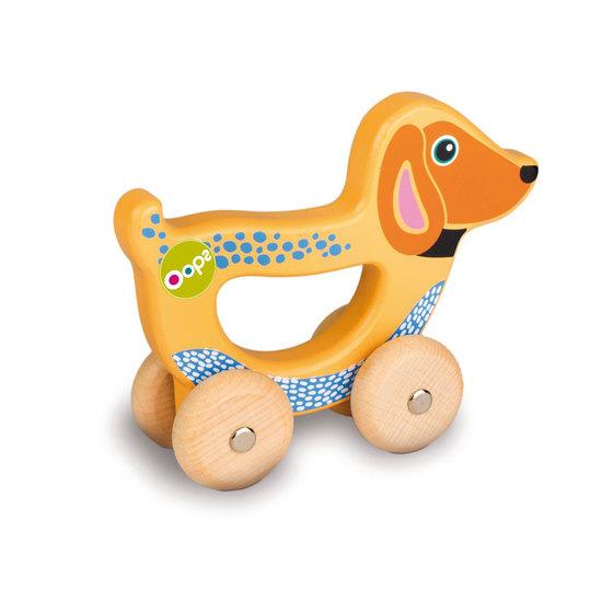 Oops Holz Handlauf Spielzeug Hund
