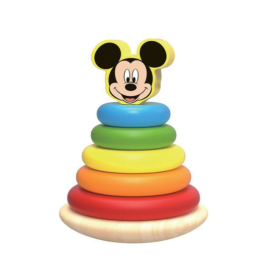 Disney Mickey Wooden Stacker 7 pieces