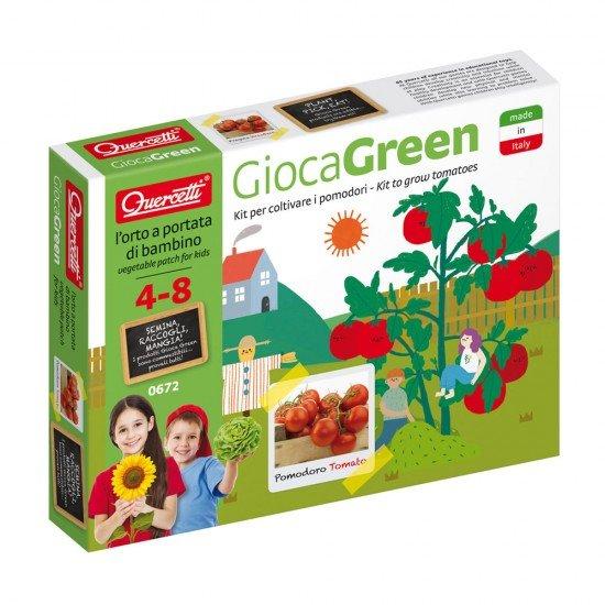 Quercetti Gioca Green Juego para plantar Tomates