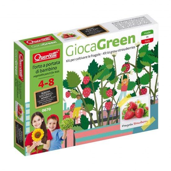 Quercetti Gioca Green Os meus Morangos