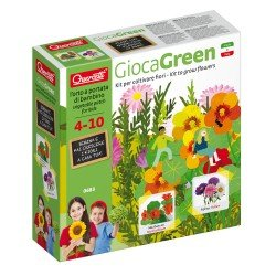 Quercetti GiocaGreen Learn to Plant Flowers (Aster and Nasturtium)