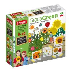 Quercetti GiocaGreen Learn to Plant Flowers (Daisy & Others)