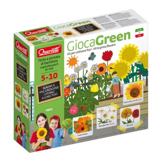 Quercetti GiocaGreen Aprendo a Plantar Flores (Marguerita & Otras)