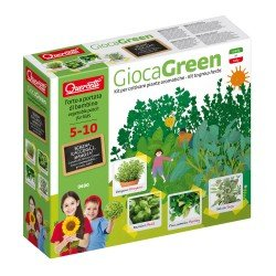 Quercetti GiocaGreen I Learn to Plant Aromatic Herbs