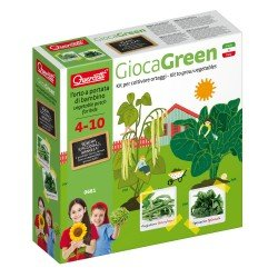 Quercetti GiocaGreen Learn to Plant Vegetables (String Bean & Spinach)