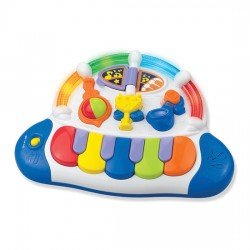 Happy Kid Piano JukeBox Luces y sonidos 12+
