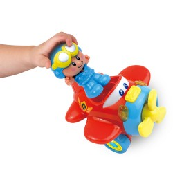 Happy Kid Fun Airplane Light, Sounds and Movements 12+
