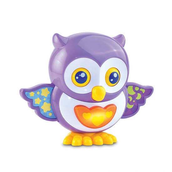 Happy Kid Owl children's toy with lights and sounds 12+