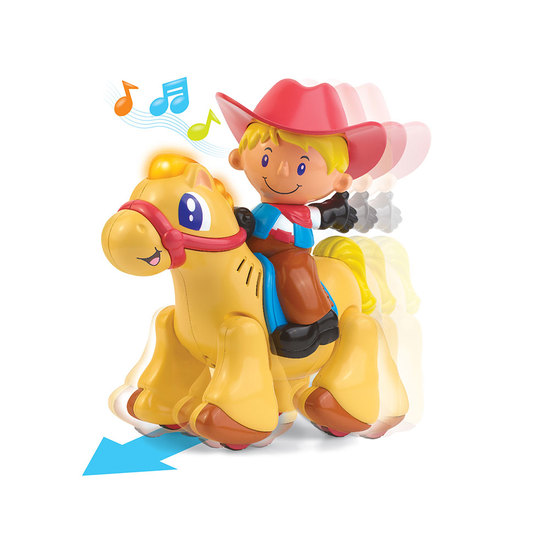 Happy Kid Cowboy Funny Sounds and Movements 12+