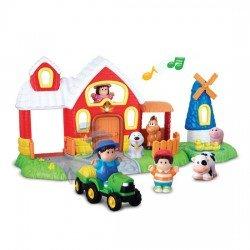 Happy Kid Aktivitätsfarm mit Figuren. Licht und Ton 18+
