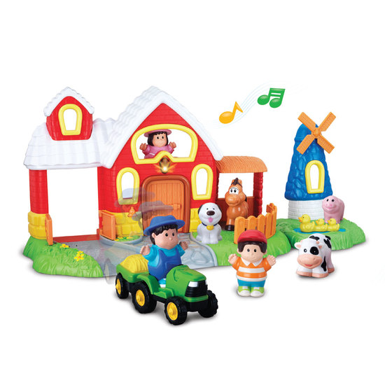 Happy Kid Activity farm with figures. Lights and sounds 18+