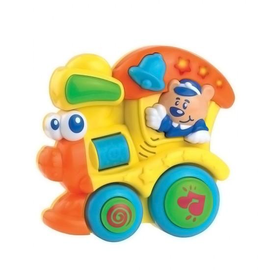 Happy Kid Juguete Musical de actividades máquina de tren 12+