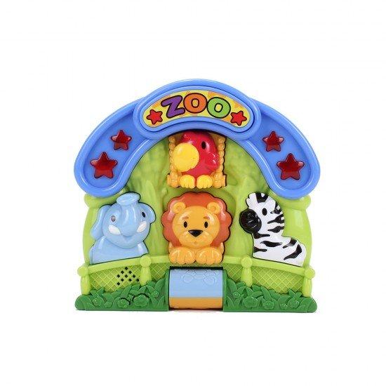 Happy Kid Juguete Musical de actividades Zoo 12+