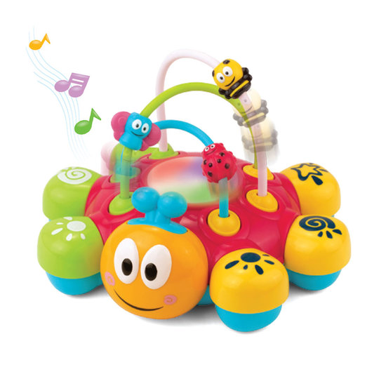 Happy Kid Ladybird fun activities with light and sound 12+