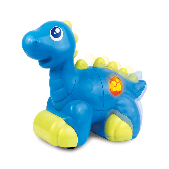 Happy Kid Mi Dino musical azul con luces y sonidos 18+