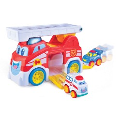 Happy Kid Mein erster Feuerwehrauto 12+