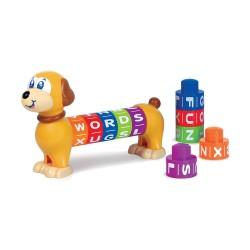 Happy Kid Dog Learning Blocks 12+