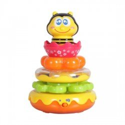 Happy Kid Bee Pyramid with Sounds 12+
