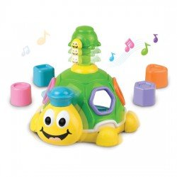 Happy Kid Musical Turtle with 12+ snaps