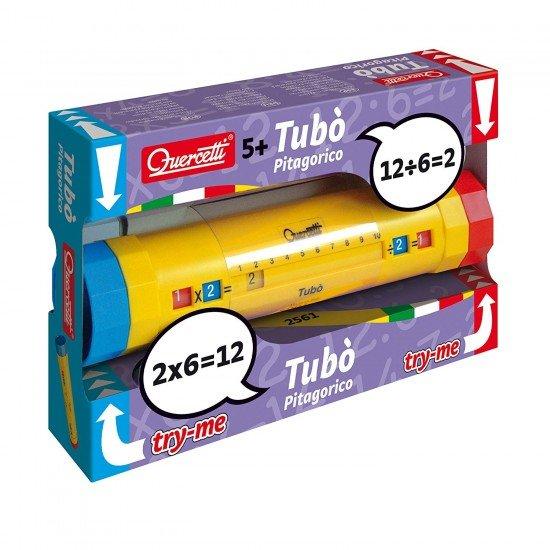Quercetti Calculation Game Tabulated Tube