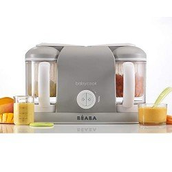 Béaba Babycook Plus Grey - Baby Kitchen Robot
