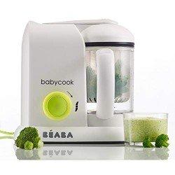 Béaba Babycook Solo Neon - Robot de cocina 4 en 1
