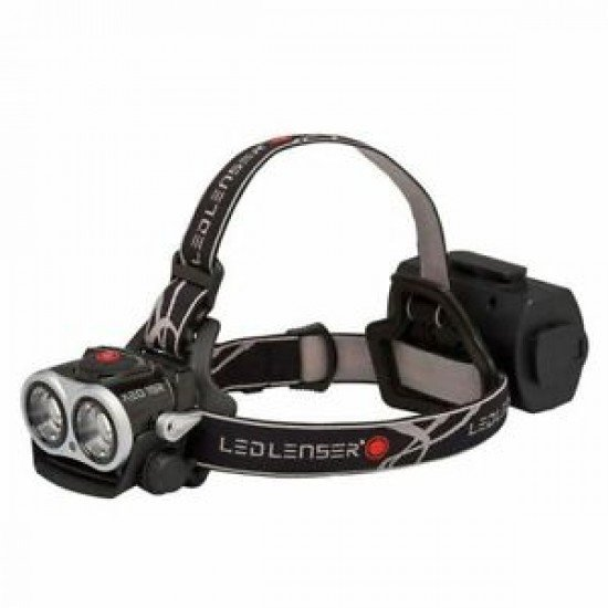 Led Lenser Rechargeable Front XEO19R Black + Accessories 2,000 lumens