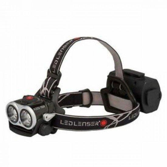 Led Lenser Frontal Recargable XEO19R Negro + Accesorios 2.000 lumens