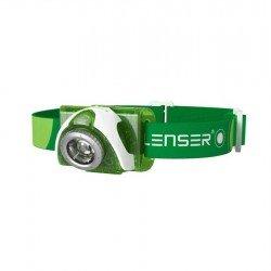 Led Lenser Linterna Frontal SEO3 Verde 100 lumens