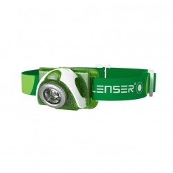Led Lenser Headlamp SEO3 Green 100 lumens
