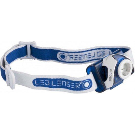 Led Lenser Headlight SEO7R Blue 220 lumens