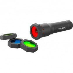 Led Lenser 4 Anti-Roll Protectors with 4 Color Filters for T7, T7M