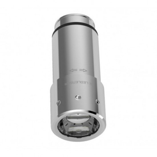 Led Lenser Linterna Automotive-Silver Recargable 80 lumens