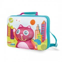 Oops 3D Soft Schoolbag Cat