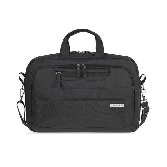 Coolpack Business Line schwarze Laptop-Tasche Ontario