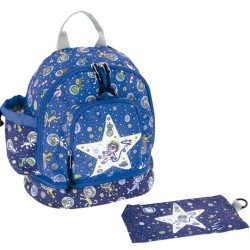 Laken Blue Children's Backpack 27 cm (2 years) with Kosmos Thermal Pocket