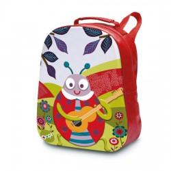 Oops 3D Soft Backpack Ladybug
