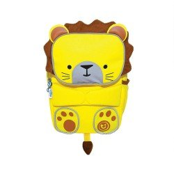 Trunki Children's backpack for high visibility school - ToddlePak Lion Leeroy Yellow