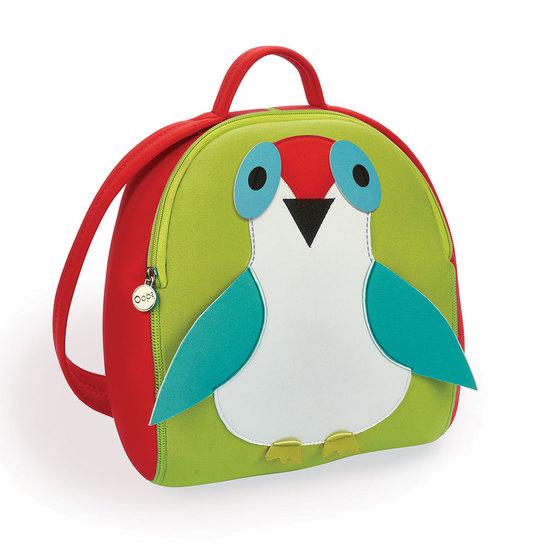 Oops Bird neoprene backpack