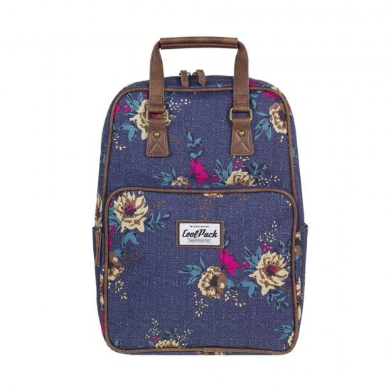 CoolPack Backpack Vintage Blue Denim Flowers A093