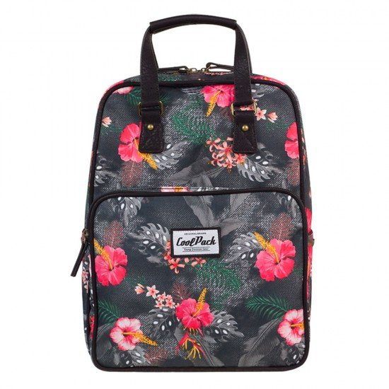 CoolPack Mochila Vintage Coral Hibiscus A090
