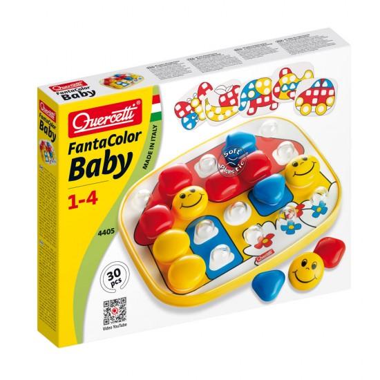 Quercetti FantaColor Baby Básico 6 Patrones 30 piezas