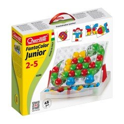 Quercetti Juego Arte Visual Junior Plus 48 Pinos