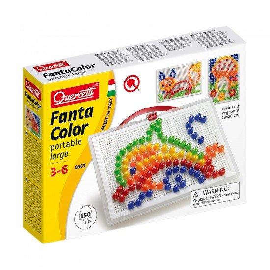 Quercetti Jogo Arte Visual Pixel 150 Pinos 5 Cores
