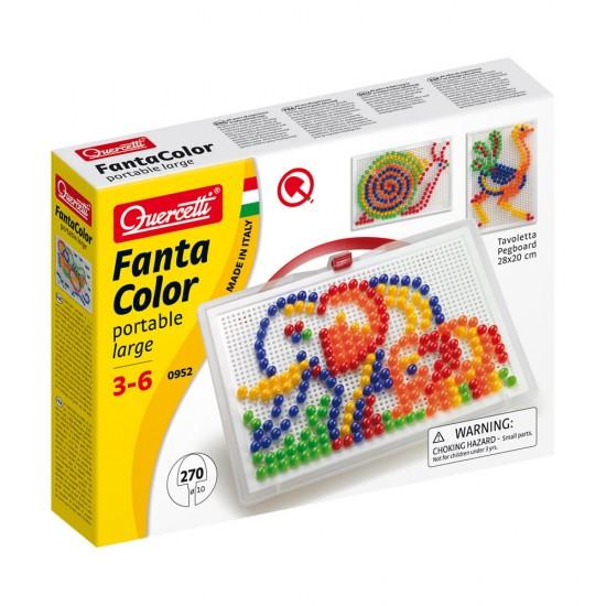 Quercetti Jogo Arte Visual Pixel 270 Pinos 5 Cores