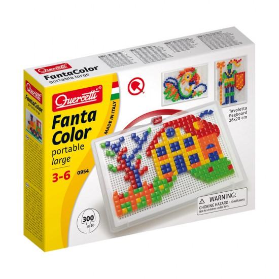 Quercetti Juego Arte Visual Pixel 300 Pinos 5 Colores
