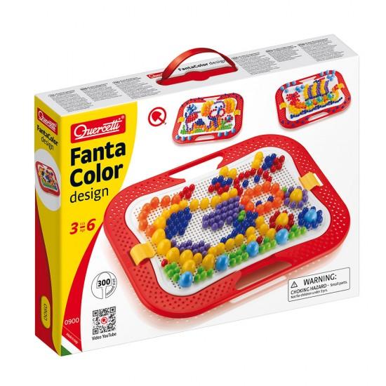 Quercetti Juego FantaColor 300 piezas 6 Colores
