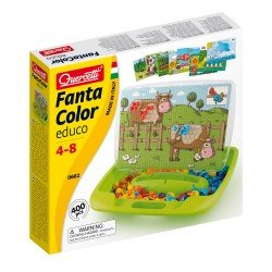 Quercetti FantaColor Game Farm 400 pieces