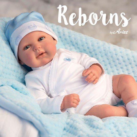 Arias Dolls Reborns 45 cm Joel with Blanket - 98021